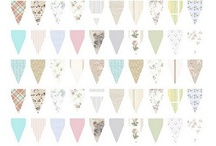 bunting and banners