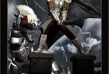 Fantasy 3D / 3D fantasy renders
