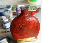 стекло-бутылки-вазы