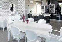 ΤΡΑΠΕΖΑΡΙΑ - DINING ROOM / Διαφορετικά στυλ τραπεζαρίας.