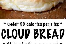Cloud bread  other Bread and Lo carb Munchies