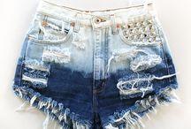 customizando shorts
