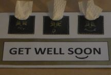 Get Well Soon / Crafts and ideas for ill or hospitalized friends and family