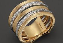 ringer,armbånd og smykker