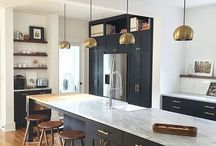 KITCHEN BAR / Popular Las Vegas fashion and lifestyle bloggers Life of a Sister share kitchen bar decor ideas.