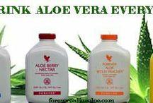 Forever Drinks / Aloe Vera gels