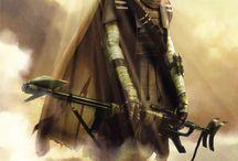 Rael Sul / The first star wars OC