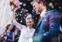 Wedding photo : cheers