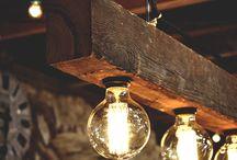 luces de madera