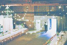 Post industrial wedding
