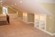attic and basements