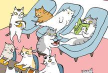 Illustrative Cats