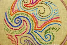 pontos coloridos diversos