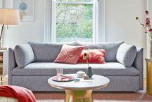 Elisa & Jess' Living Room