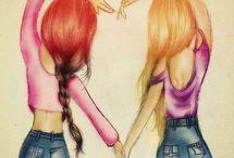 Melhores amigos (a)
