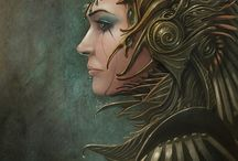 Warrior women / by Sweetly Art