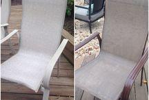 Patio furniture restore