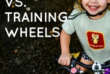 BIKING with toddlers and kids