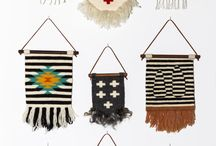 Textile Wall Art + Fabric Wall Hangings