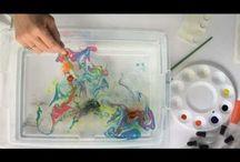 Atelier/Suminagashi/marmeren