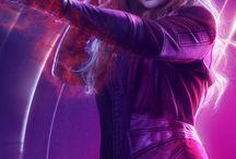 Elizabeth Olsen / The one who died unavenged.