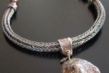 viking weave / Woven wire jewellery