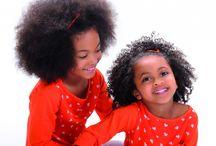 Petites têtes bouclées (et adorables !) / Coiffure enfants cheveux bouclés, frisés et crépus, boucles afros.