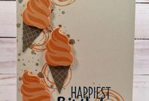 Stampin Up-Cool/Frozen Treats