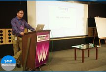 SMC Masterclass with Mr. Ajay Pawar / It was a very interactive and an informative session with Mr Ajay Pawar, Corporate Communications, Godrej Properties Limited. During the #SMCMasterclass on PR & Communication, he shared his insights on how a set-up should be for a #PressConference.   'Always be ready to work hard and be ready to take up and contribute as a team player.' he said.
