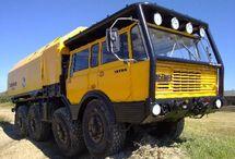 Trucks / Big moving equipment