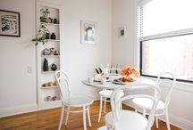 Dinnig / Dinning tables and set ups