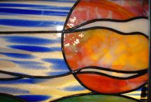 Stained Glass Examples / Beautiful stained glass windows and panels made by various artists / by Molly Brown