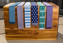 Spring/Summer Knit Ties / Popular Knit Ties in an Assortment of Colors and Patterns, Perfect for the Spring and Summer Months.