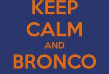 Broncos  / by Katie Pritts