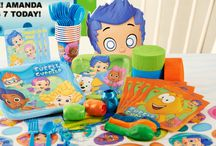 Bubble Guppies Party Ideas / It's time for Bubble Guppies! Or rather, A Bubble Guppies birthday party! #BubbleGuppies #birthdayexpress