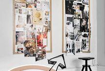 {Vision boards} | Deco Coaching | Decoración / Soportes & ideas para crear, colgar y decorar con tu vision board.