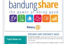 What's on RCBS / E-bulletin of Rotary Club Bandung Selatan