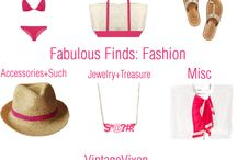 Fabulous Finds / Fashion + Home + Beauty + Tech + Everything / by Lil Springer