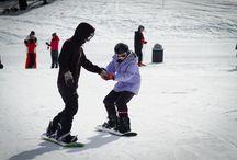 Snowboarding in Czech Republic