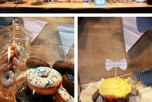 Bows and mustaches babyshower