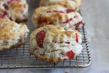{Recipes} Scones / Scones  Easy Scone recipes for inspiration.  I love cleaning up scone recipes to make them as healthy as possible for my family