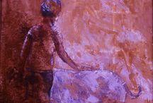MIRAZO SERIE ESTAR EN EL MUNDO / pintura