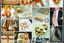 Gold Wedding / Złoty Ślub / Ślub w kolorze złota / Gold Wedding Więcej na www.cardsdesign.pl  Zaproszamy!