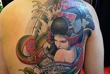 tattoo chinees/japans/dragons