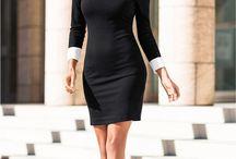 šaty pro služebnou