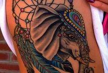 Tatuajes de elefantes