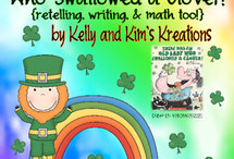 St. Patrick's Day / Activities for teachers to use around St. Patrick's Day for prek, kindergarten, first grade, and second grade classrooms.