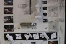 Pin up boards de Arquitectura