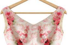 Saree/Lehenga Blouses / Saree and Lehenga blouses (/crop tops) I love, and inspires me to combine with simple sarees