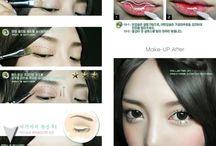 Face & Makeup / 메이크업 자료들~~